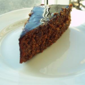 Шоколадно-абрикосовый торт