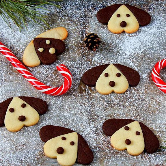Печенье в форме собачки - рецепт от Pyramida