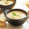 Нежнейший крем-суп из цветной-капусты с бланшированным шпинатом