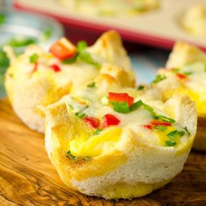 Швидкий сніданок за 10 хвилин: траталеткі з омлетом!