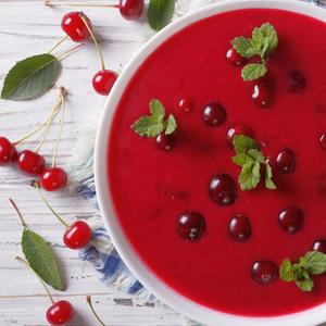 Вишнево-огуречный суп Чриантели по-грузински