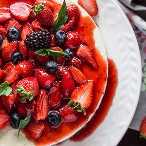 Летний низкокалорийный десерт