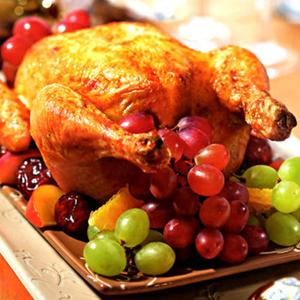 Курица с виноградом по греческому рецепту