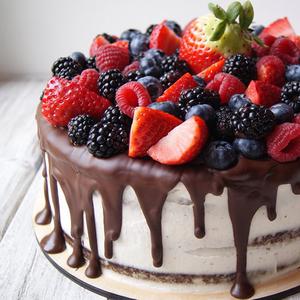 Торт зі згущеним молоком