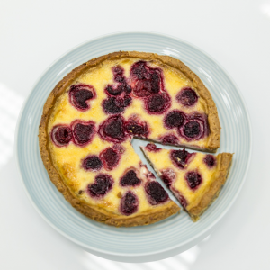 Тарт малиновий від Калини