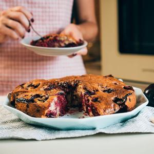 Сливовий пиріг