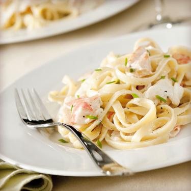Італійська паста з морепродуктами - Рецепт від Pyramida