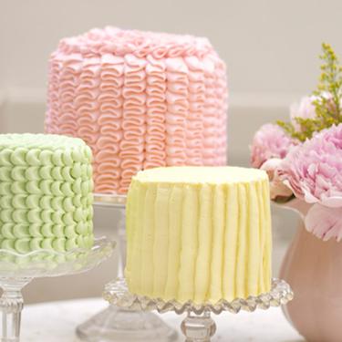 Как украсить торт с помощью ложки - рецепт от Pyramida