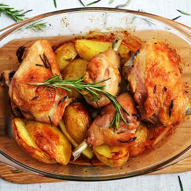 Как разделать курицу - рецепт от Pyramida
