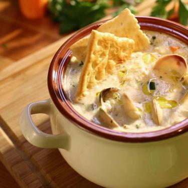 Американський суп Клем-чаудер - Рецепт від Pyramida