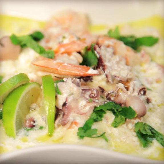 Коктейль з морепродуктів - Рецепт від Pyramida
