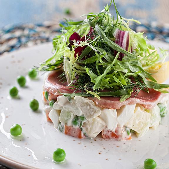 Как красиво подать салат. Презентация как в ресторане - рецепт от Pyramida