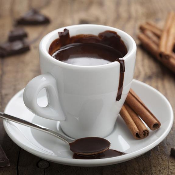 Горячий шоколад - рецепт от Pyramida
