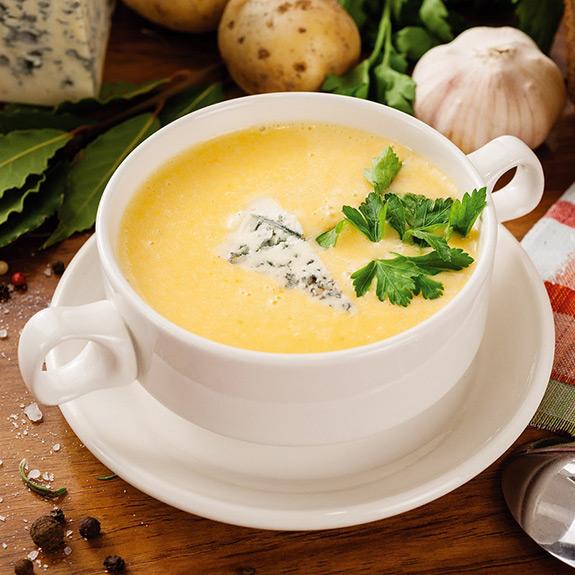 Сирний суп - Рецепт від Pyramida