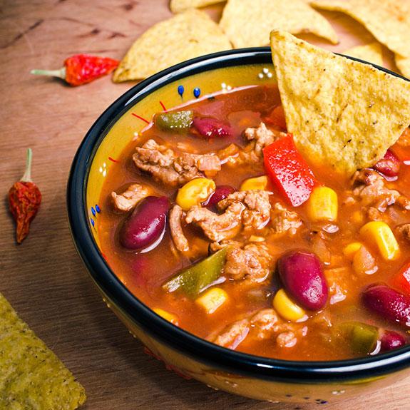 Мексиканський суп з кукурудзою - Рецепт від Pyramida