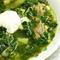 Витаминный суп: рецепт с зеленью подорожника