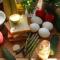Яйца пашот со спаржей и тосты с фруктами