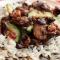 Рис з овочами і морським коктейлем