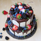 Їстівний топпер для прикраси тортів